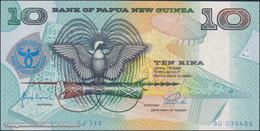 TWN - PAPUA NEW GUINEA 17a - 10 Kina 1998 25th Ann. Bank Of PNG - Prefix SJ XXV AU - Sign. Vulupindi & Vele UNC - Papua Nuova Guinea