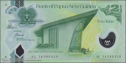 TWN -  PAPUA NEW GUINEA 28d - 2 Kina 2014 Polymer - Prefix AL - Signatures: Bakani & Tossali UNC - Papua Nuova Guinea