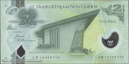 TWN -  PAPUA NEW GUINEA 28d - 2 Kina 2014 Polymer - Prefix AW - Signatures: Bakani & Tossali UNC - Papua Nuova Guinea