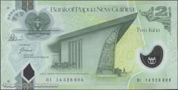 TWN -  PAPUA NEW GUINEA 28d - 2 Kina 2014 Polymer - Prefix BI - Signatures: Bakani & Tossali UNC - Papua Nuova Guinea