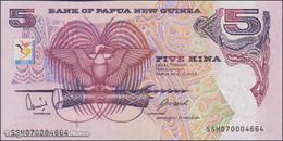 TWN - PAPUA NEW GUINEA 34 - 5 Kina 2007 XIII South Pacific Games - Low Serial 000XXXX - Prefix SSH UNC - Papua Nuova Guinea