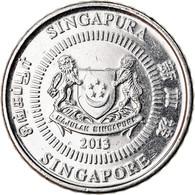 Monnaie, Singapour, 50 Cents, 2013, Singapore Mint, TTB+, Copper-nickel - Singapore