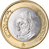Monnaie, Maroc, Al-Hassan II, 10 Dirhams, 1995, TTB, Bi-Metallic, KM:92 - Marocco