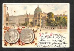 2.20€ : ALLEMAGNE - BERLIN - Gruss Aus BERLIN - 1901 - Mitte