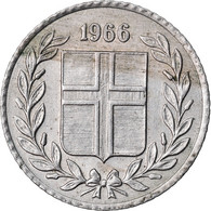 Monnaie, Iceland, 10 Aurar, 1966, TTB, Copper-nickel, KM:10 - Iceland