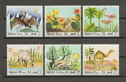 Qatar 1971 MiNr. 445 - 450  BIRDS ANIMALS Reptiles 6v MNH**    60.00 € - Other