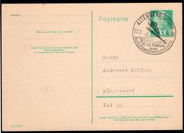 DDR - 1958 - Postkarte - Cachet Spécial - Ski - A1RR2 - Wintersport (Sonstige)