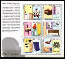 ITALIEN BLOCK 22 POSTFRISCH(MINT) ITALIENISCHES DESIGN (I) EINRICHTUNGSGEGENSTÄNDE - Blocks & Kleinbögen