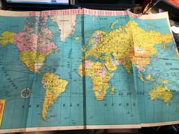 WORLD MAP VIET NAM VIETNAM OLD MAPS(VIET NAM MAPS OLD WORLD MAP.)(1 PCS - Topographical Maps