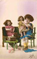 Fantaisie  Fillette Poupées   Dolls  CPA  Lola 6 - Jeux Et Jouets
