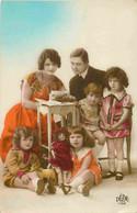 Fantaisie  Fillettes Famille  Poupée   Doll  Chèvre CPA  Dédé 1162 - Giochi, Giocattoli