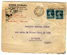 38520 C - Mission CITROEN Au CAIRE - 1921-1960: Periodo Moderno