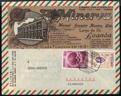 1949, Angola, 367, 328, Brief - Angola