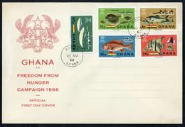 1966, Ghana, 261-65 B, FDC - Ghana (1957-...)