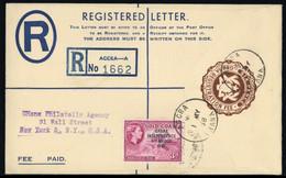 1957, Ghana, EU 2 U.a., Brief - Ghana (1957-...)