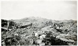 PHOTO FRANCAISE - LES RUINES DE CRAONNE PRES DE CRAONNELLE - CORBENY - CHEMIN DES DAMES - AISNE GUERRE 1914 1918 - 1914-18