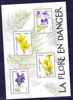 France 5321/5324 2019 Nouveauté Feuillet Flore Neuf ** TB MNH Sin Charnela Faciale 3.52 - Unused Stamps