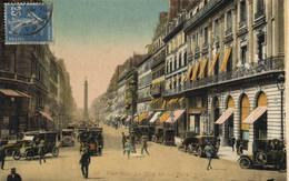 PARIS  Rue De La Paix Colorisée Recto Verso - Distretto: 01
