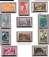 Roumanie ** N° 774 à 784 - Commémoration De La Libération De La Transylvanie Du Nord - - 1918-1948 Ferdinand, Charles II & Michael