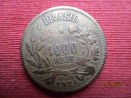 Brésil 1000 Reis 1924 - Brasile