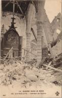 CPA La Guerre Dans Le Nord AIX-NOULETTE - Interieur De I'Église (129733) - Francia