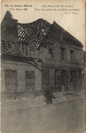 CPA La Guerre 1914-15-Aix-Noulttte Une Rue Apres De Terribles Combats (129735) - Francia