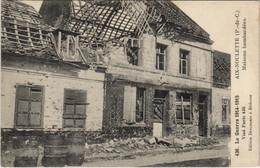 CPA La Guerre 1914-15-AIX-NOULETTE Maisons Bombardees (129736) - Francia
