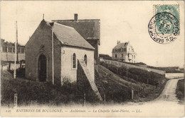 CPA Environs De BOULOGNE-AMBLETEUSE-La Chapelle St-Pierre (129752) - Francia