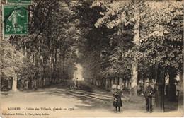 CPA ARDRES - L'Allee Des Tilleuls Plantee En 1776 (129844) - Francia