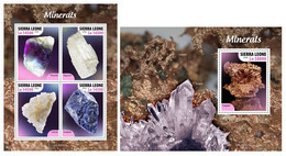 Sierra Leone. 2020 Minerals. (523ab) OFFICIAL ISSUE - Minerals