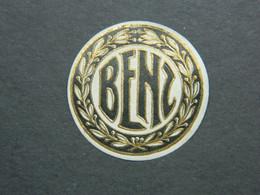 Siegelmarke Benz - Vignetten (Erinnophilie)