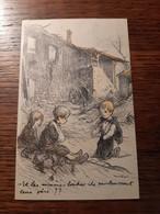 Poulbot F, Guerre, Enfants, Misère.. - Poulbot, F.