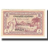 Billet, Tunisie, 50 Centimes, 1943, 1943-07-15, KM:54, TB - Tunisia