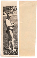 1960s Original 12x4 Home Private Photo Photography Vintage Young Man Male Pants Pin Up Beach USSR Russia 6596 - Pin-ups