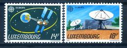 Luxembourg 1991 Luxemburgo / Europa CEPT Space & Communications MNH Espacio Comunicaciones / Ir02   32-8 - Europa-CEPT