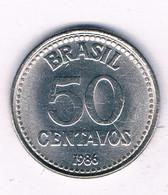 50 CENTAVOS 1986  BRAZILIE /8510/ - Brasile