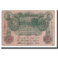 Billet, Allemagne, 50 Mark, 1910, 1910-04-21, KM:41, TB+ - 50 Mark