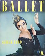 Balletto - Rivista Fotografica Opera Ballet N. 8 Par Serge Lido - 1958 I. Lidova - Boeken, Tijdschriften, Stripverhalen