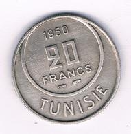 20 FRANCS 1950 TUNESIE /8513/ - Tunisie