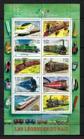 "France 2001: Bloc ""Trains"", Neuf** - Sheetlets"