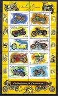 "France 2002: Bloc ""Motos"", Neuf** - Sheetlets"