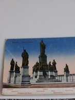 Carte Postale De  WORMS  LUTHER  DENKMAL - Postkaarten