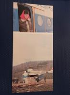 USSR - YAKUTIYA  BAM Aerodrome - Animated  - OLD Postcard - 1970s  - Helicopter - Aérodromes