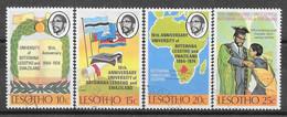 Lesotho N° 258/61 Yvert OBLITERE - Lesotho (1966-...)