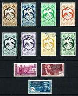 África Ecuatorial (Francesa) Nº 141/5-151/2-154-191-193/4**/*/(*)/º - Ongebruikt
