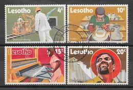 Lesotho N° 218/21 Yvert OBLITERE - Lesotho (1966-...)