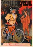 PUB Publicité Cycles Le CHEVREUIL Jules LAMY Fabricant -Nos Cyclistes (vélo Bicyclette Bicycle NUGERON C 14)(Chasseur) - Advertising