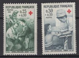 France: 1966. Y&T 2020. N° 1508/09 TP **, MNH, Neuf(s) - Neufs