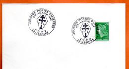 63 ISSOIRE FFL   BIR HAKEIM  1942    1972 Lettre Entière N° IJ 270 - Bolli Commemorativi