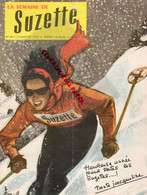 LA SEMAINE DE SUZETTE- N° 58- 1ER JANVIER 1959- SKI - BONNE ANNEE- SLALOM-JACQUELINE-MAURICE BIRAUD  RADIO LUXEMBOURG - Zonder Classificatie